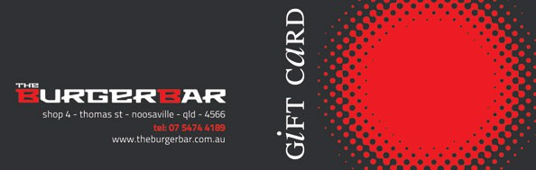 the burger bar gift card